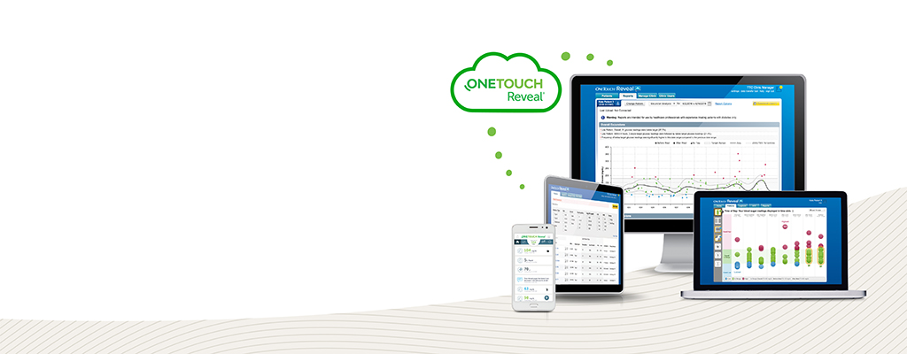 OneTouch® Reveal mobile and web apps