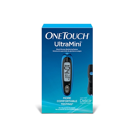 OneTouch® UltraMini® meter in box