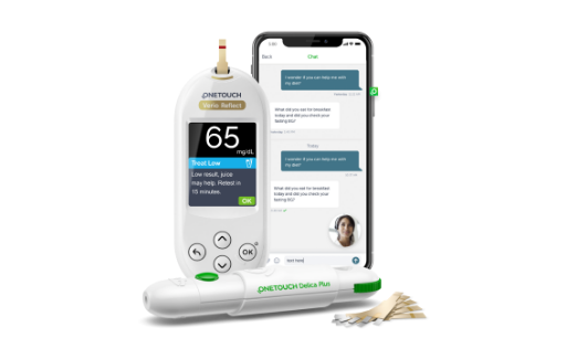 onetouch diabetes products and coaching app